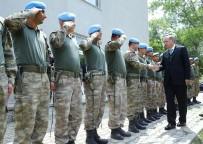 NAKKAŞ - Cumhurbaşkanı Erdoğan'dan Hadımköy Jandarma Tabur Komutanlığına Taziye Ziyareti