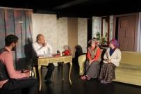 ŞEHİR TİYATROSU - Erzurum Şehir Tiyatrosu 'Kadına Şiddete Hayır' Dedi