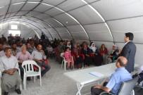 İŞKUR - Samsat'ta Depremzedelere İşkur'dan İstihdam Desteği