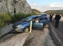 MAIDE - Tavşanlı'da Trafik Kazası Açıklaması 1 Yaralı