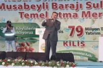 TEMEL ATMA TÖRENİ - Bakan Eroğlu, Kilis'te Temel Atma Törenine Katıldı
