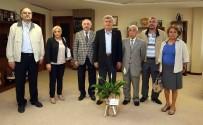 İBRAHIM KARAOSMANOĞLU - Başkan Karaosmanoğlu, DSP İl Yönetimini Konuk Etti