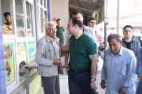 FERHAT SINANOĞLU - Belediye Başkanı Çiftçi Suruç Esnafıyla Buluştu