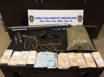 ÇEYREK ALTIN - Cezaevindeki Cinayet Zanlısının Evinde Uyuşturucu Ele Geçirildi