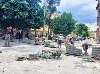 DOĞALGAZ HATTI - Dinar'da Üst Yapı Faaliyetleri