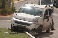 TİCARİ ARAÇ - Elazığ'da Trafik Kazası Açıklaması2 Yaralı