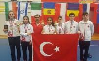TÜRK TELEKOM - Erzincanlı Badmintoncular Sırbistan'dan Madalyayla Döndü