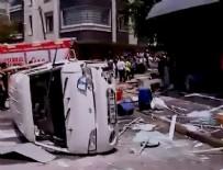 AĞIR YARALI - İstanbul'da korkutan patlama