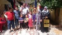 ŞAHIT - Kaçarlar Dünya Mülteciler Gününde Muhacir Aileleri Ziyaret Etti
