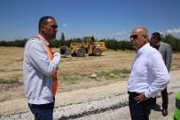 ERTUĞRUL ÇALIŞKAN - Karaman'da Yeni Çevre Yolunda İkinci Etap Çalışmaları Devam Ediyor