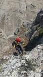 KEÇİ - Kayalıklarda Mahsur Kalan Keçiler Kurtarıldı