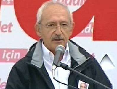 Kılıçdaroğlu'nun Çamlıdere'deki grup toplantısı