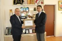 VERGİ DAİRESİ - Konya Vergi Dairesi Başkanlığı'ndan KONESOB'a Teşekkür