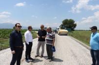 SÜLEYMANIYE - Manisa Büyükşehir Asfalt Çalışmalarını Hızlandırdı