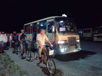 BİSİKLET - Minibüs Şoförlerine Bisikletliye 'Saygı Ve Empati' Eğitimi