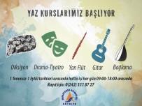 BAĞLAMA - Muratpaşa'da Sanat Dolu Bir Yaz
