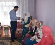 CEMIL ÖZTÜRK - Öztürk'ten 7 Çocuk Annesi Sıdıka'ya Ziyaret