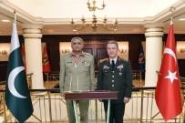 GENELKURMAY - Pakistan Kara Kuvvetleri Komutanı Bajwa'dan Genelkurmay Başkanı Akar'a Ziyaret