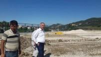 ÖMER HALİSDEMİR - Şehit Ömer Halisdemir Stadı'nda Çalışmalar Devam Ediyor