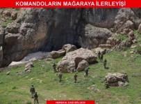 KOMANDO - 'Şehit Piyade Kurmay Albay Gökhan Peker-01' Operasyonu Zorlu Arazi Şartlarında 8 Gündür Devam Ediyor