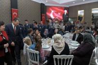BAKIM MERKEZİ - Şehit Ve Gazi Aileleri İftarda Bir Araya Geldi