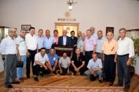 OSMAN GÜRÜN - Seydikemer Muhtarları'ndan Büyükşehir'e Teşekkür Ziyareti
