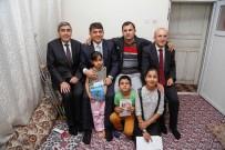 KARACİĞER HASTASI - Şimşek İle Fadıloğlu, İftar Öncesi Aileleri Ziyaret Etti