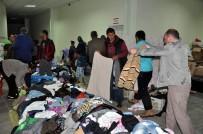 SEL FELAKETİ - Sorgun'da 300 Aileye Gıda Ve Giysi Yardımı Yapıldı