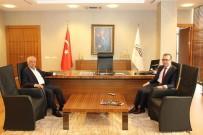 VERGİ DAİRESİ BAŞKANLIĞI - Vergi Dairesi Başkanı Halil Tekin GAİB'i Ziyaret Etti