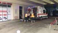 KOÇYAZı - Yüksekten Düşen İşçi Yaralandı