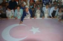 NIHAT ÖZTÜRK - 15 Temmuz Şehitleri Anısına 'Ebru' İle Dev Türk Bayrağı