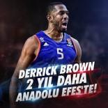 KIZILYILDIZ - Anadolu Efes Derrick Brown İle Nikah Tazeledi