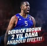 TEL AVIV - Anadolu Efes Derrick Brown'la Nikah Tazeledi