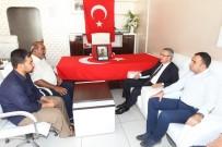 GEBZE BELEDİYESİ - Başkan Köşker Silvan'da Şehit Alilerini Ziyaret Etti