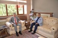 SÜLEYMAN ELBAN - Başkan Yağcı'dan Vali Elban'a Veda Ziyareti