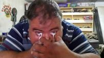 GÜNEŞ ENERJİSİ - Burnundan Aldığı Sütü Gözünden Fışkırtan Adam Şaşırtıyor