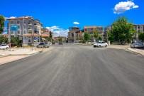 Büyükşehir Belediyesi Bayram Öncesi Asfaltlamaya Hız Verdi