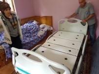 BEYİN KANAMASI - Büyükşehir'den Yatak Yardımı