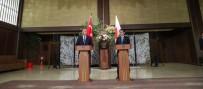 SOSYAL GÜVENLIK - Çavuşoğlu Japon Mevkidaşıyla Ortak Basın Toplantısı Yaptı