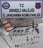KURUSIKI TABANCA - Denizli'de Jandarmadan Silah Ticareti Operasyonu