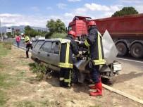 MEHMET ACAR - Denizli'de Otomobil Kontrolden Çıktı Açıklaması 1 Ölü