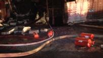 İTFAİYE ERİ - Deri Fabrikasında Korkutan Yangın