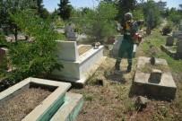 YENIKÖY - Diyarbakır'daki Mezarlıklar Temizleniyor
