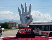 Düzce Belediye Başkanı'ndan 'rabia heykeli' açıklaması