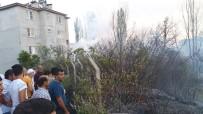 Edremit'te Mahalleyi Ateşten İtfaiye Kurtardı
