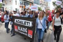 MEZHEP - Elazığ'da CHP'liler, Kılıçdaroğlu'na Destek İçin Yürüdü
