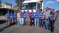 FABRIKA - Eylemi Sürdüren Sendika Yönetimine Polis Müdahalesi Açıklaması 14 Gözaltı