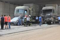 Gaziantep'te Askeri Konvoyda Kaza Açıklaması 1 Asker Yaralı