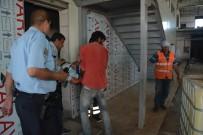 Havaalanı Terminal Binası İnşaatında İş Kazası Açıklaması 1 Yaralı