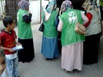 İHH Gönüllüsü Bayanlar Yetimlerle Bir Oldu